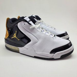 NEW Nike Air Jordan Big Fund PRM Black White Shoes